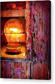 Lights Digital Art Acrylic Prints