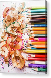 Colored Pencil Drawings Acrylic Prints