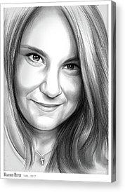 Heather Acrylic Prints