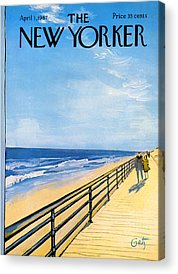 Boardwalk Acrylic Prints