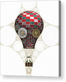 Jules Verne Acrylic Prints