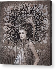 Cloak Acrylic Prints