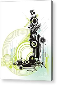 Cubic Acrylic Prints