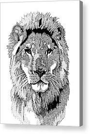 Pointillist Mixed Media Acrylic Prints
