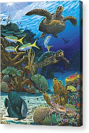 Tropical Fish Acrylic Prints
