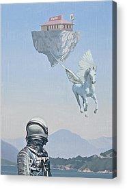 Pegasus Acrylic Prints