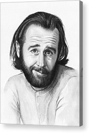 Celebrity Portrait Acrylic Prints