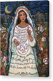 Rosary Acrylic Prints