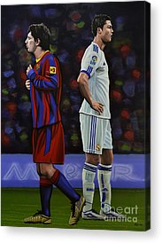 Sports Paintings Acrylic Prints