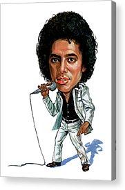 Art Pop Music King Of Pop Acrylic Prints