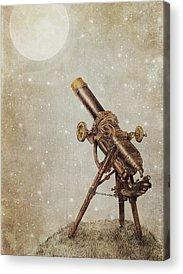 Telescope Acrylic Prints