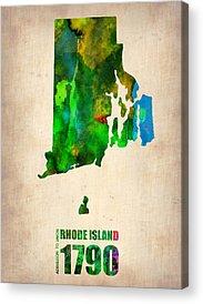 Rhode Acrylic Prints