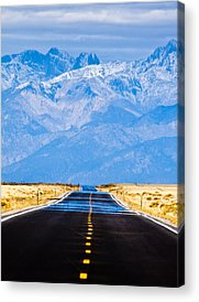 Road Acrylic Prints