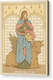 Saint Luke The Evangelist Acrylic Prints