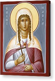 Saint Nadia Acrylic Prints