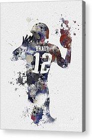 Super Bowl Mixed Media Acrylic Prints