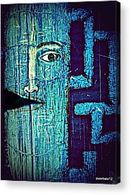 Dies In His Actions Acrylic Prints