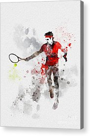 Australian Open Mixed Media Acrylic Prints