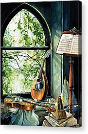 Music Stands Acrylic Prints