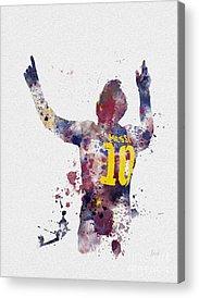 Barcelona Mixed Media Acrylic Prints