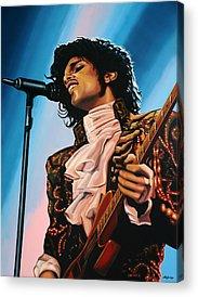 Singer Acrylic Prints