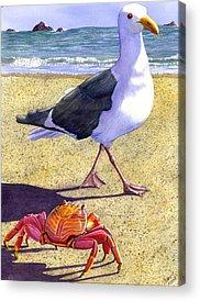 Crab Acrylic Prints