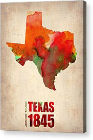 Texas Acrylic Prints
