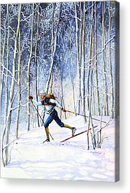 Canadian Sports Artist Acrylic Prints