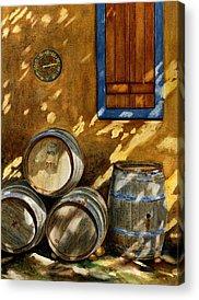 Barrel Acrylic Prints