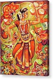 Indian Bride Acrylic Prints