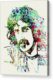 Frank Zappa Acrylic Prints