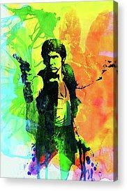 Han Solo Acrylic Prints