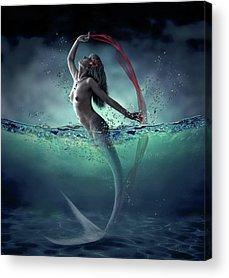 Mermaid Acrylic Prints