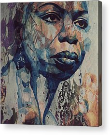 Soul Mixed Media Acrylic Prints