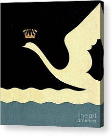 Black Swans Acrylic Prints