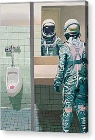 Space Acrylic Prints