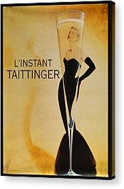 Taittinger Acrylic Prints