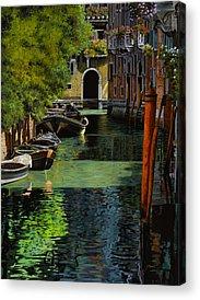 Gondolas Acrylic Prints