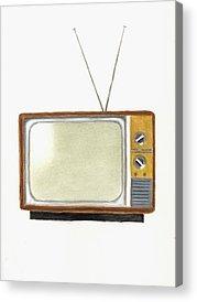 Tv Acrylic Prints