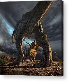 Prehistoric Acrylic Prints