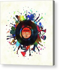 Instrument Acrylic Prints