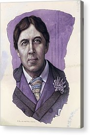 Oscar Wilde Acrylic Prints