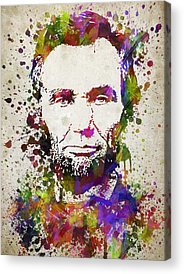 Lincoln Drawings Acrylic Prints