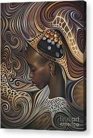 African Paintings Acrylic Prints