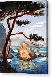 Whalers Cove Acrylic Prints