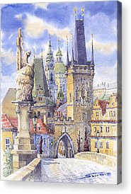 Czech Republic Acrylic Prints
