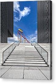 Rollercoaster Photographs Acrylic Prints