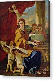 Poussin Nicolas 1594-1665 Attr.to Acrylic Prints