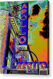 Apollo Theater Acrylic Prints