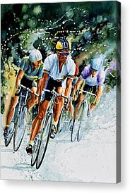 Sports ist Paintings Acrylic Prints